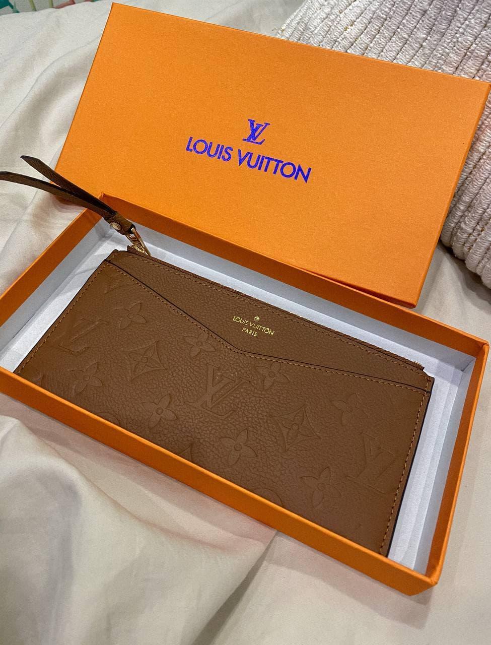 """Клатч женский Louis Vuitton """"Коричневый"""""""