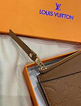 """Клатч женский Louis Vuitton """"Коричневый"""", фото 3"""