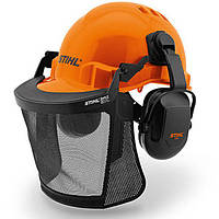 Шлем защитный Function Basic с сеткой и наушниками