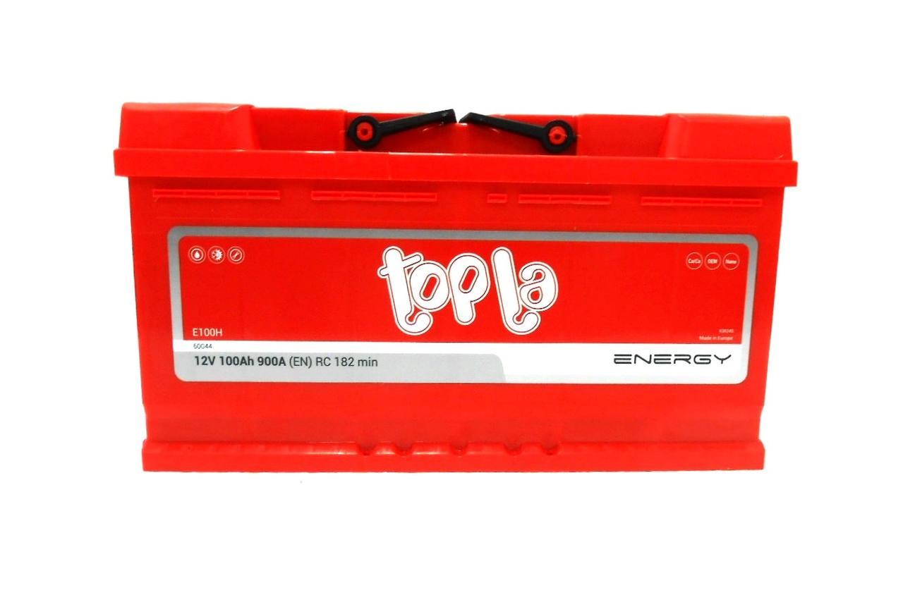 Аккумулятор автомобильный TOPLA Energy  6СТ-100Ач R+ 900A Словения