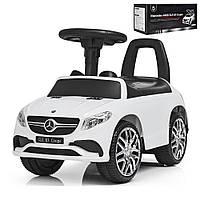 Детская машинка-каталка Bambi Mercedes, белый