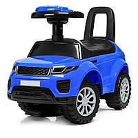 Детская машинка-каталка Sport Car синий световые и звуковые эффекты