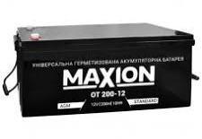Аккумулятор промышленный MAXION 12V 200Ah