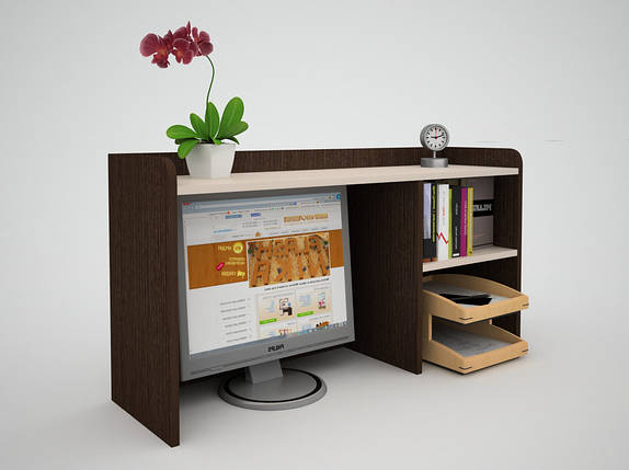 Надстройка для офисного стола FlashNika / ФлешНика ЭКО НН - 32, фото 2