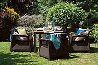 Комплект садовой мебели Corfu Fiesta Set Коричневый