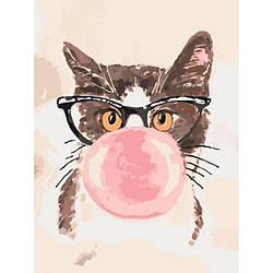 Картина по номерам Идейка Bubble Gum 30х40 см KHO4050, КОД: 1319093