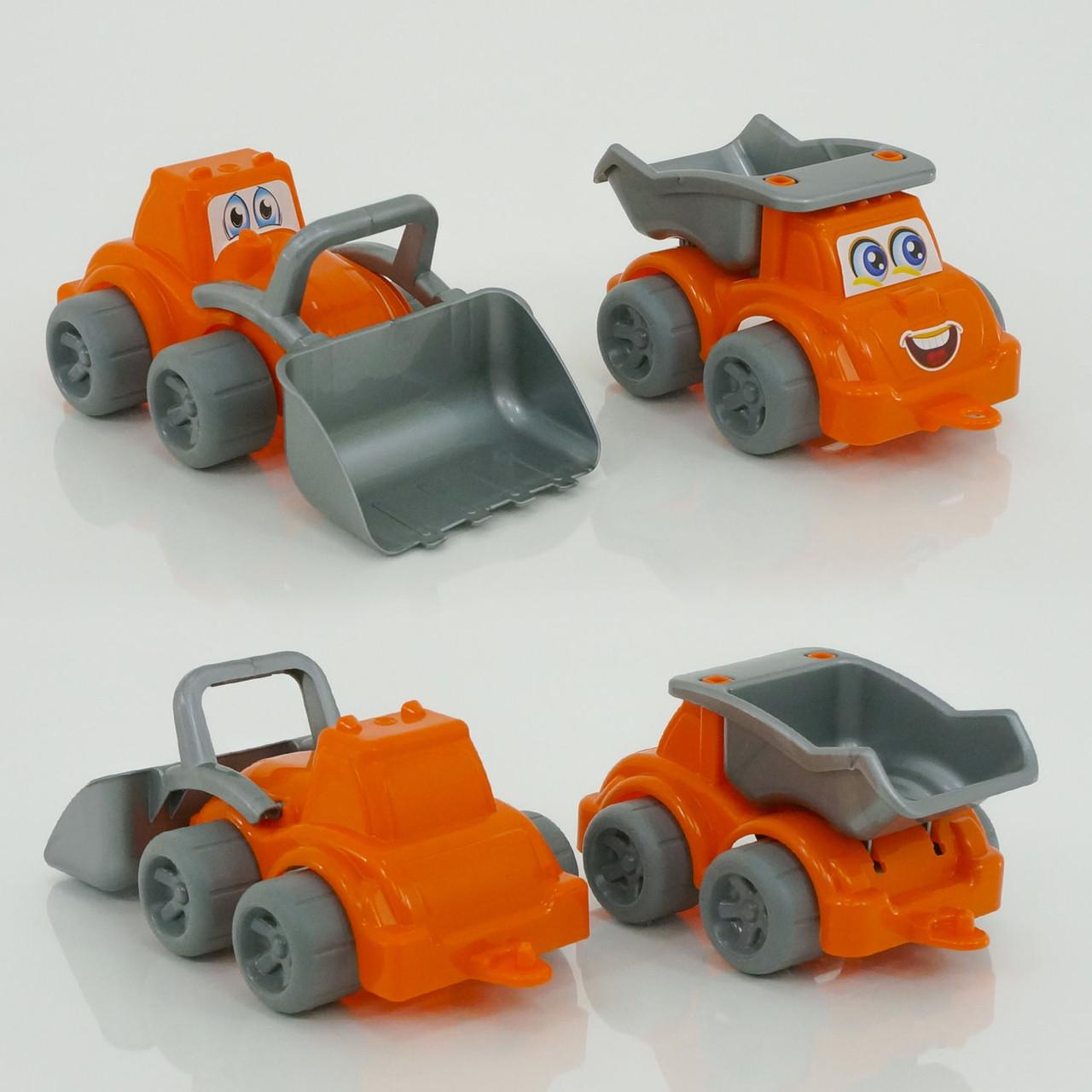 "Машинка+трактор ""Будмайданчик"" 0977 (8) ""ТЕХНОК"", (Украина)"