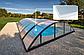 Павильон для бассейна Klasik S 3,6х4,3х1м - Silver elox, фото 4