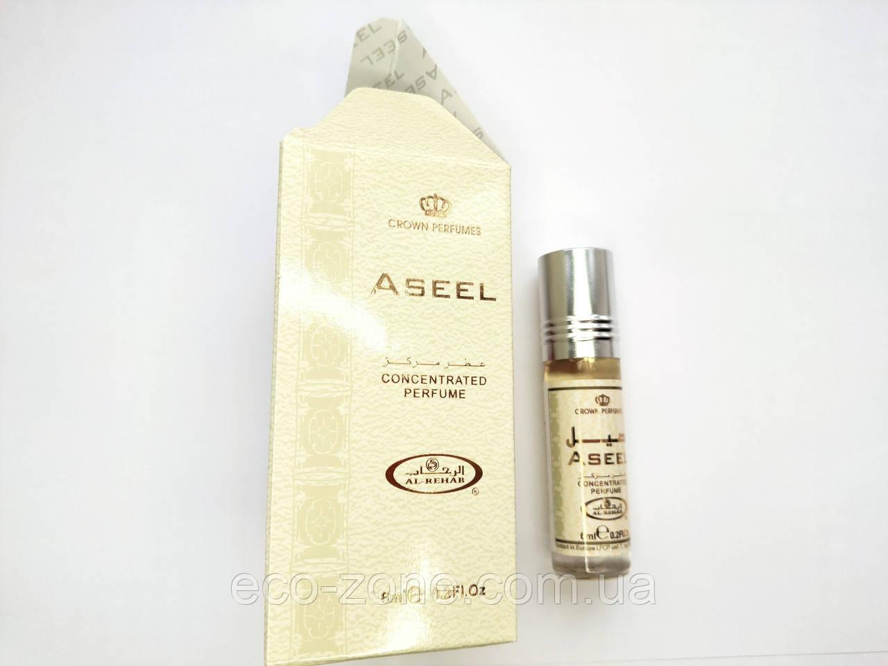 Арабские масляные духи  Аль-Рехаб - Aseel. Масло - 6 мл.