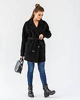 Модное шерстяное женское пальто-пиджак 40-48 р