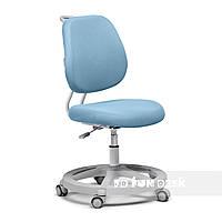 Ортопедическое кресло детское подростковое 7-18+ лет голубое Pratico blue ТМ FunDesk 51033