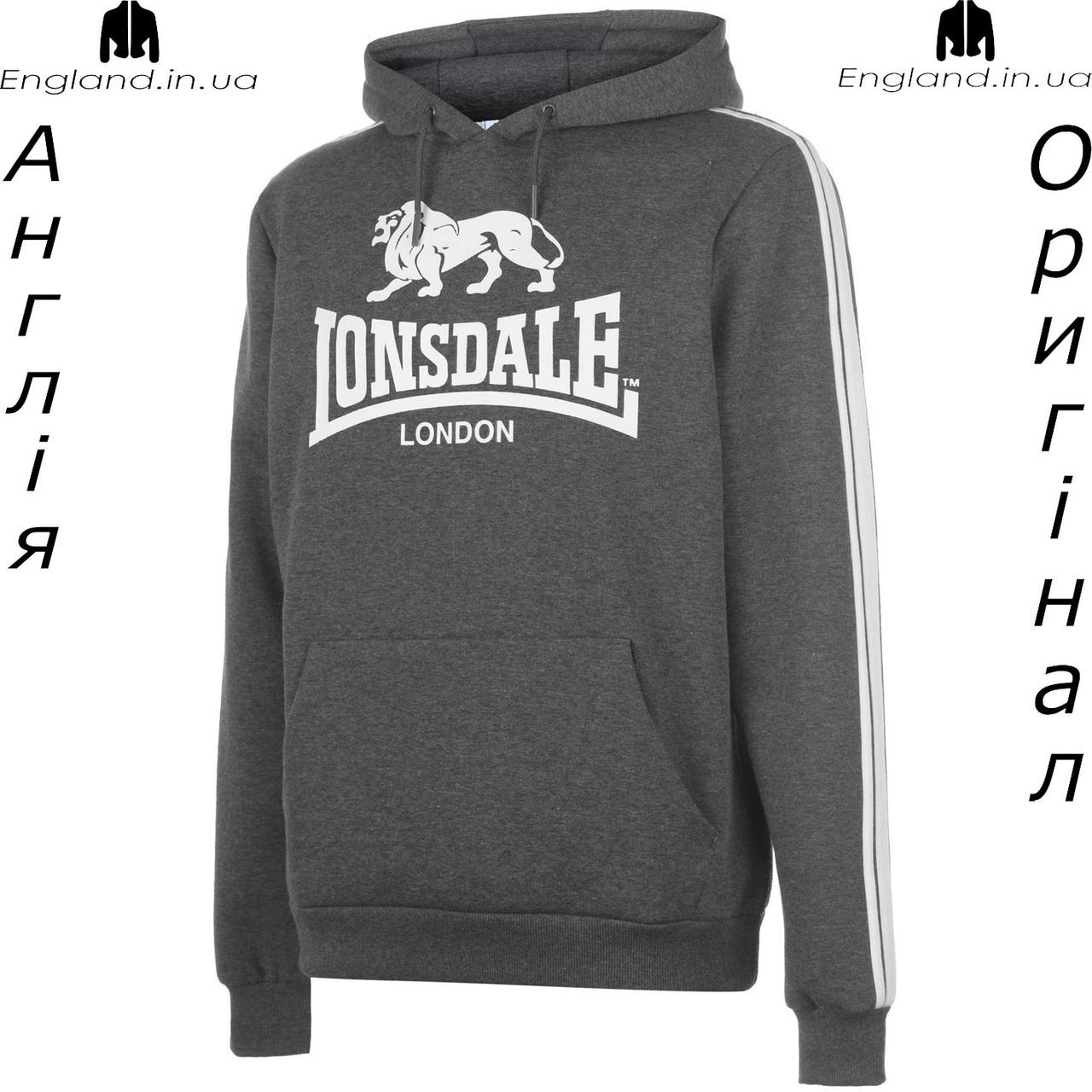 Кофта худи мужская Lonsdale из Англии