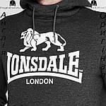 Кофта худи мужская Lonsdale из Англии, фото 4