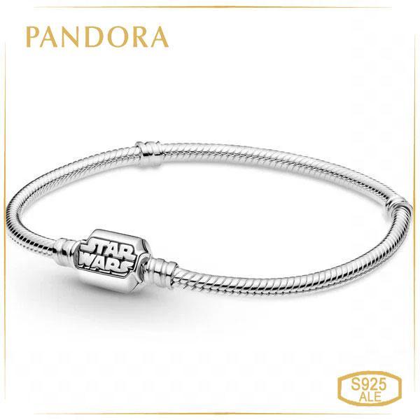 Пандора Браслет Pandora Moments Звездные войны (17 см) 599254C00