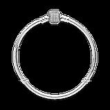 Серебряный браслет Moments Pandora 590723CZ, фото 3