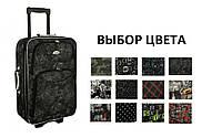 Дорожный чемодан на колесах RGL 775 (большой) с кодовым замком Орнамент, фото 1