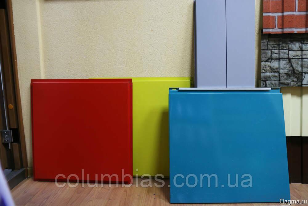 Фасадні касети виготовлення будь-якого кольору, товщини та розміру