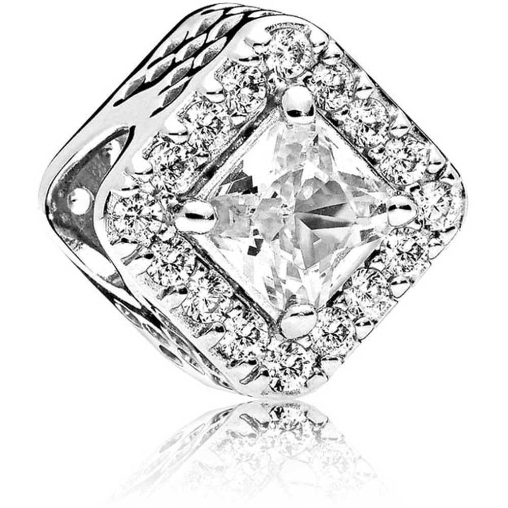 """Срібна намистина Pandora """"Геометрія"""" 796206CZ"""