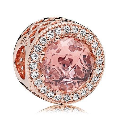 Серебряный шарм Pandora Rose 781725NBP