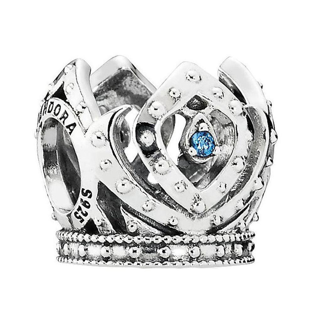 Серебряный шарм Pandora 791588CZB