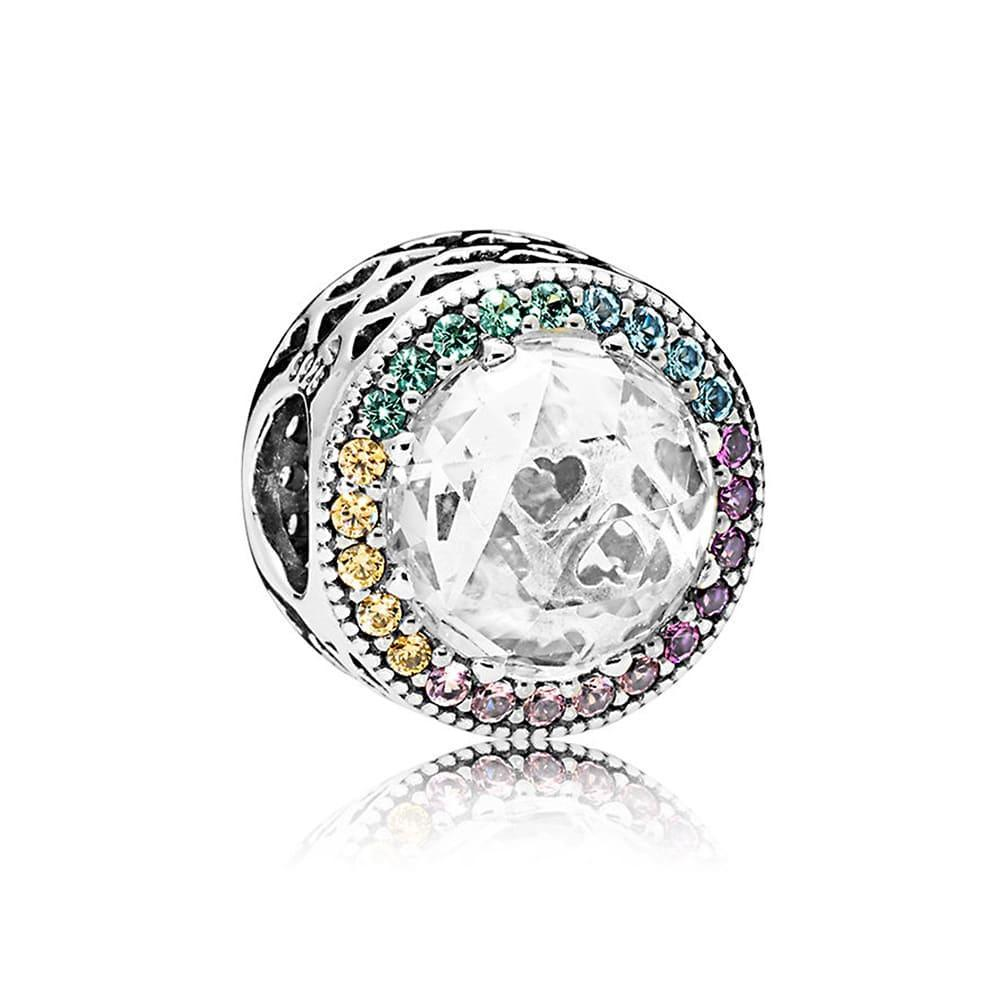 Срібна намистина Pandora 791725CZMX