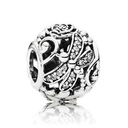 Серебряный шарм Pandora 791733CZ