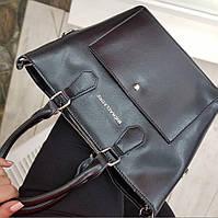 Женская Сумка кожаная черная сумка через плечо Женские сумки из натуральной кожи Модные сумки 2021