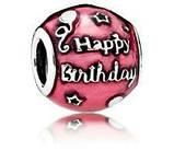 """Срібна намистина Pandora """"Святкування Дня народження"""", фото 2"""