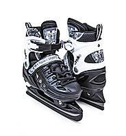 Ковзани розсувні Scale Sport Black, розмір 29-33