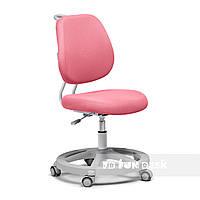 Ортопедическое кресло детское подростковое 7-18+ лет розовое Pratico pink ТМ FunDesk 51034