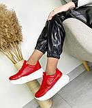 Женские кроссовки на платформе в разных цветах 3422, фото 8