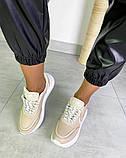 Женские кроссовки на платформе в разных цветах 3422, фото 10