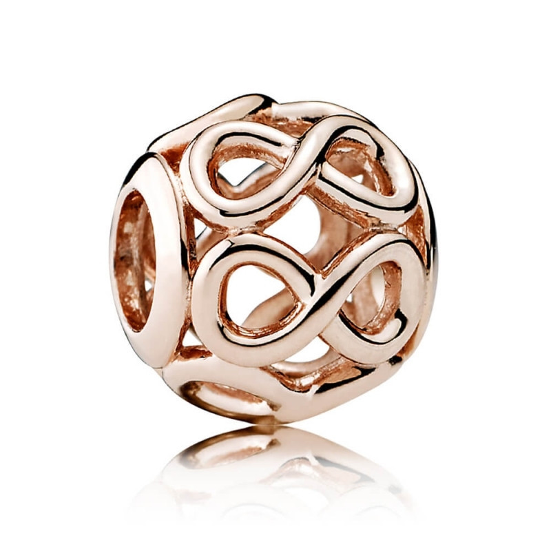 Срібна намистина Pandora Rose 781872
