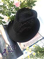 "Шляпа челентанка ""Мегги"" ажурная, фото 1"