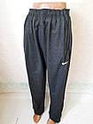 Спортивні штани чоловічі трикотажні прямі темно-сині, сірі,чорні р.54,56,58,60,62.Від 5шт по 135грн, фото 6