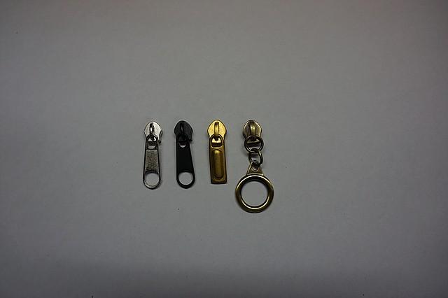 Бегунок сумочный №5 цвет никель, антик, т. никель, золото (Турция)