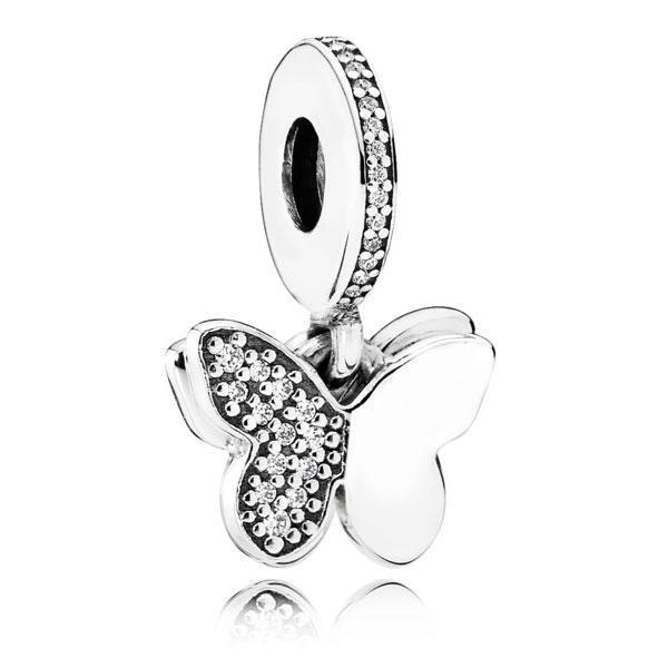 Срібна підвіска-намистина Pandora 791844CZ