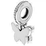 Срібна підвіска-намистина Pandora 791844CZ, фото 3