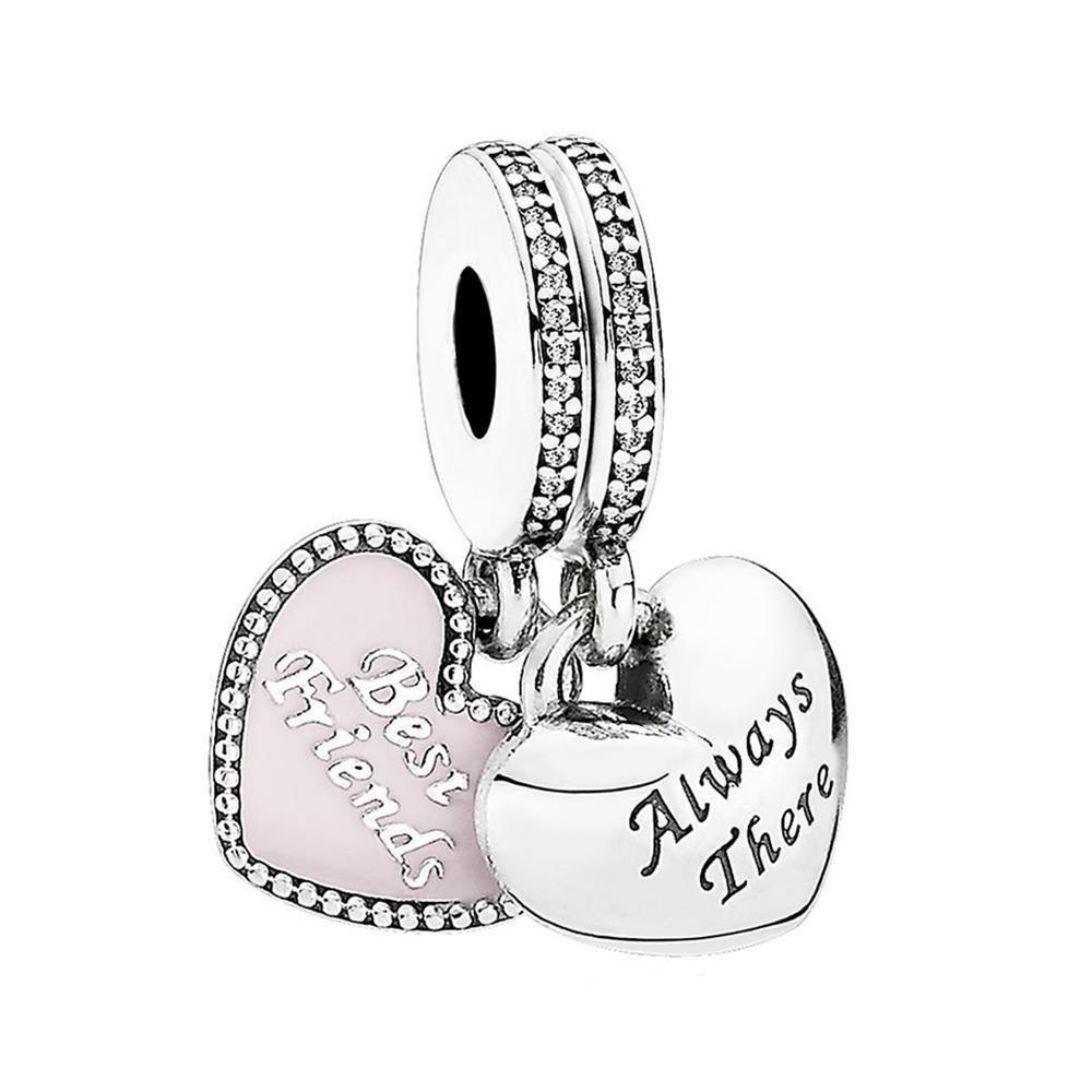 Серебряная подвеска-шарм Pandora 791950CZ