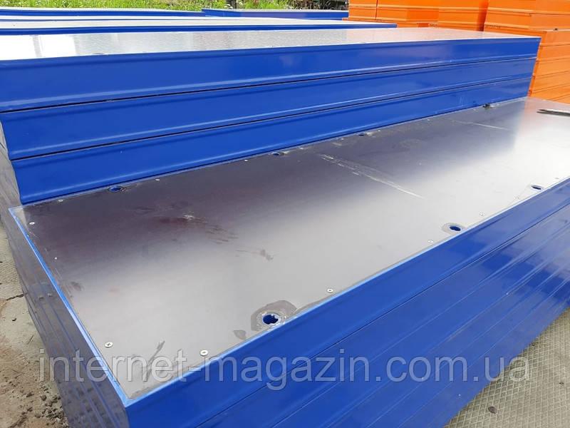 Щиты для опалубки стеновой 1200 х 3000  (мм)