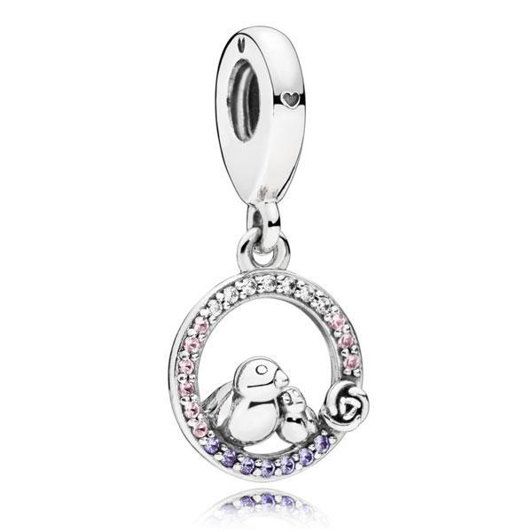 Срібна підвіска-намистина Pandora 797060NPRMX