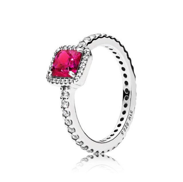 """Серебряное кольцо Pandora """"Вечная Элегантность"""""""