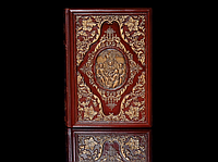 Книга кожаная Библия А4 210*300мм, фото 1