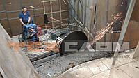 Демонтаж высоко армированного бетона, фото 1