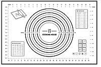 Силіконовий коврик для випікання 60х40см Cooking House, фото 1