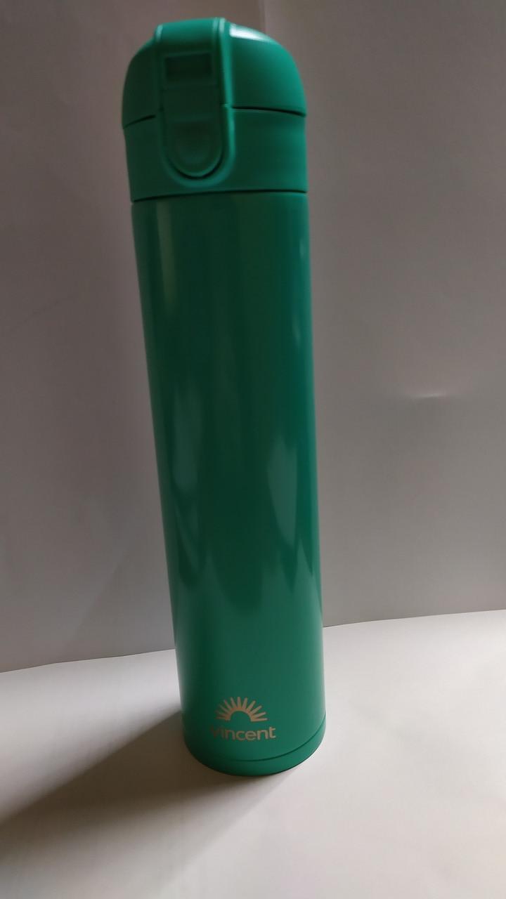 Термопляшка Bright Lime зелена  0,4 л  Vincent