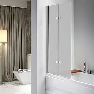 Стеклянная шторка для ванны AVKO Glass 647 100х140 см перегородка для ванной Матовое