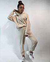 Спортивний костюм жіночий з укороченою кофтою і вільними штанами (Норма і батал), фото 4