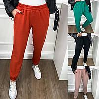 Р 42-48 Трикотажные спортивные брюки с резинкой на манжетах 23396