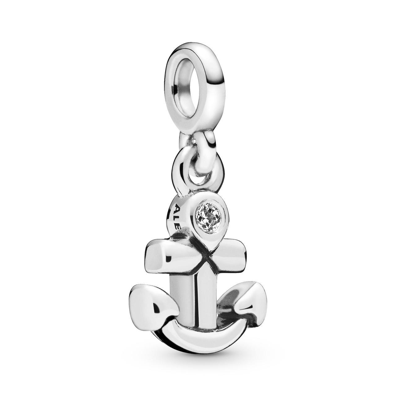 """Срібна намистина Pandora Me """"Мій якір"""" 798393CZ"""